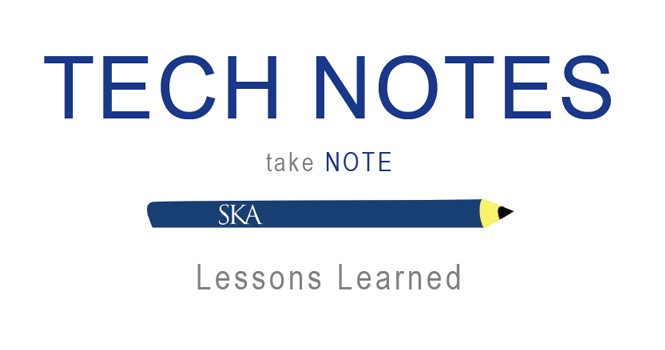 TECH NOTES | Lessons Learned – Parking Deck