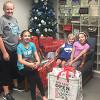 Special SKA Elves Wrap Presents