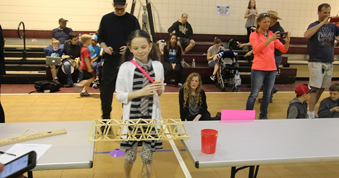 SKA visits students at VT, lawyers at NC Law Conference, ends week judging Triad Parks Department Bridge Building Competition