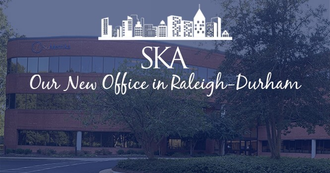 SKA is opening a new office in Raleigh-Durham!