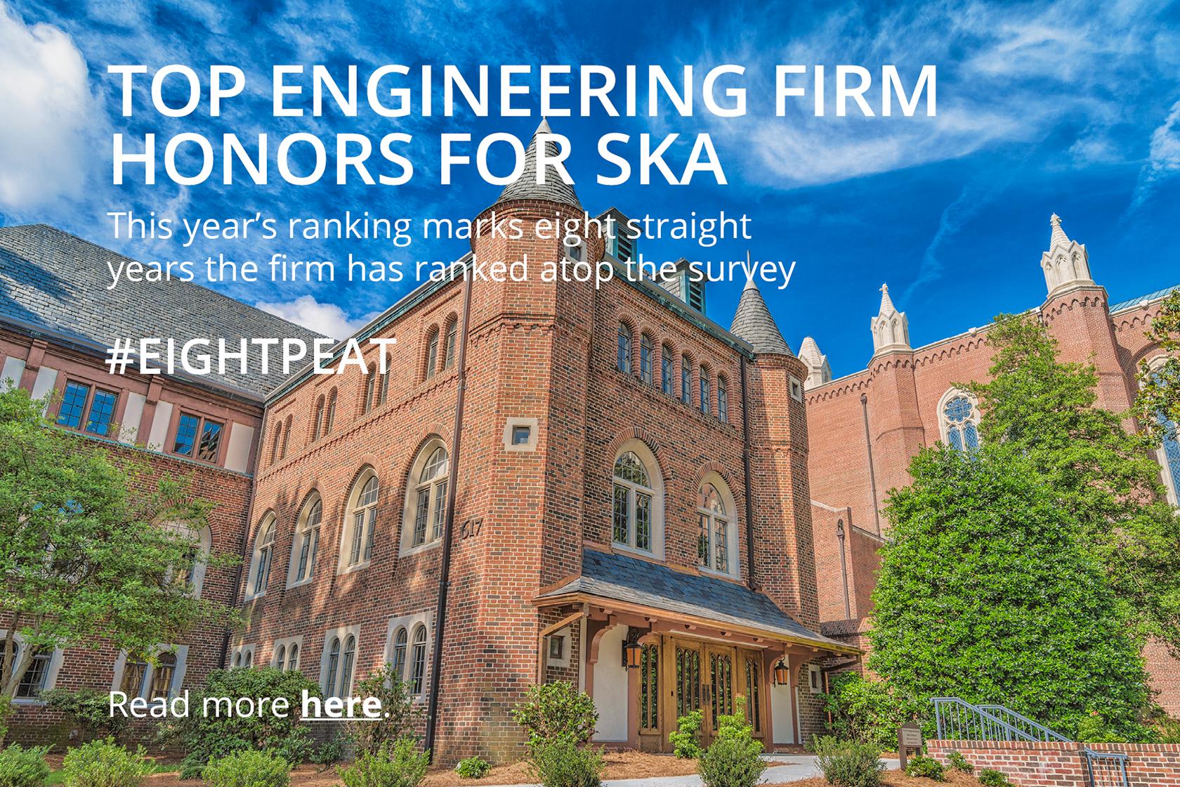 EightPeat SKA Ranked Top Engineering Firm In The Triad