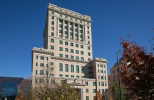 Engineering Week Bethel Middle School tours Buncombe County Courthouse