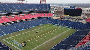 2017 Project of the Year Award (ICRI – Carolinas) for Nissan Stadium Upper Deck – Concourse Waterproofing & Concrete Repairs
