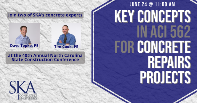 Two Concrete Experts share at NC State Construction Office Conference